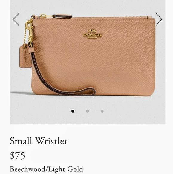 Coach Handbags - COACH wristlet Brand New